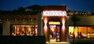 façade du restaurant à anglet La Lucciola spécialités italiennes brasserie, restaurant plge chambre d'amour à anglet