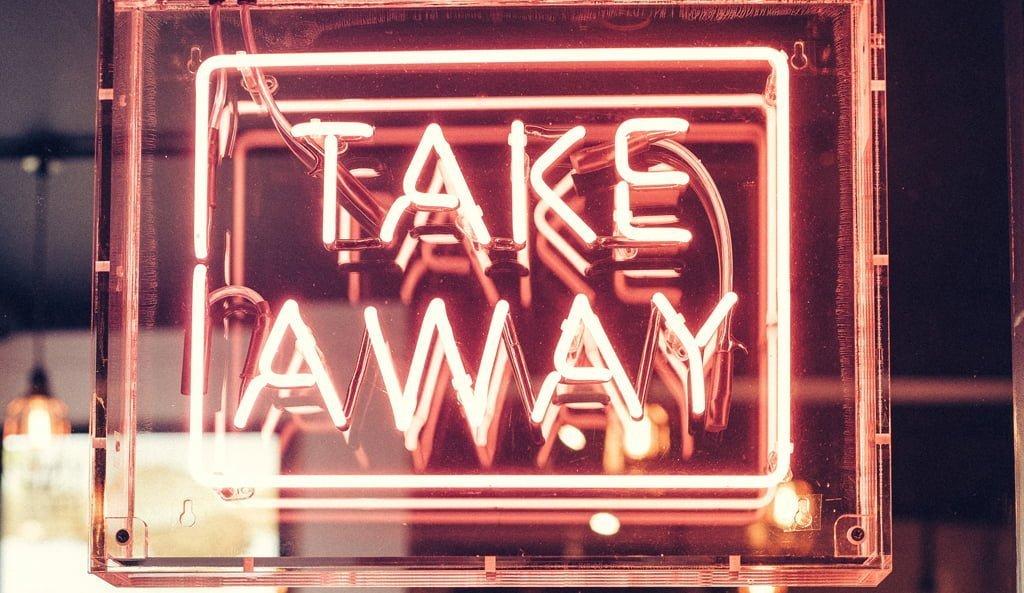 take-away flat